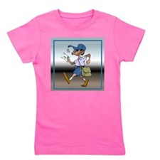 mailCarrierBLMaleTile.png Girl's Tee