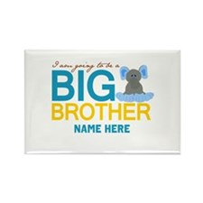 Add Name Big Brother Rectangle Magnet