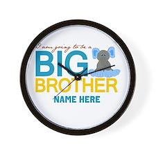 Add Name Big Brother Wall Clock