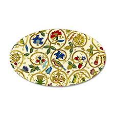 Elizabethan Swirl Embroidery Wall Decal