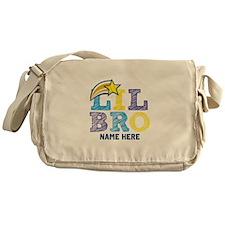 Add Name Lil Bro Messenger Bag