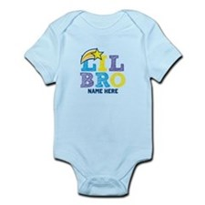 Add Name Lil Bro Infant Bodysuit