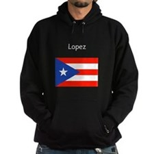 Custom Name Boricua Puerto Rican Flag Hoodie