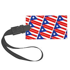Puerto Rican Flags Banderas Luggage Tag