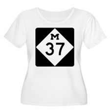 Highway M-37 Plus Size T-Shirt