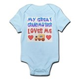 "Baby-Boy ""Great Grandmother"" Infant Bodysuit"