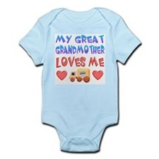 "Baby-Boy ""Great Grandmother"" Onesie"