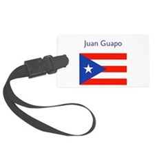Juan Custom Name Flag Boricua Luggage Tags L