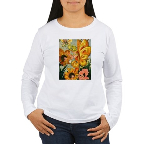 Flower Folk Women's Long Sleeve T-Shirt