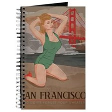 Vintage San Fran Travel Journal