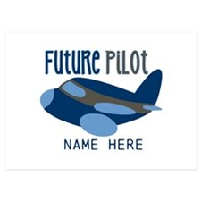 Add Name Future Pilot Flat Cards
