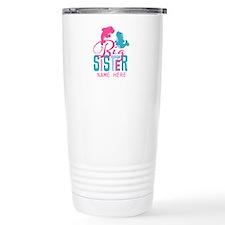 Custom Dolphin Big Sister Travel Mug