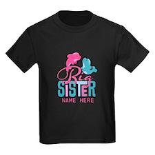 Custom Dolphin Big Sister T