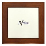 Afrogoodies Framed Tile