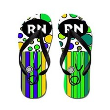 Registered Nurse Flip Flops