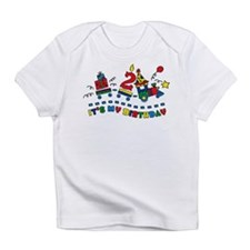 Choo Choo 2nd Birthday Infant T-Shirt