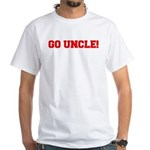 Go Uncle White T-Shirt