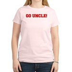 Go Uncle Women's Pink T-Shirt