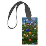 Cuddles by the fence Luggage Tag