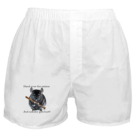 Chin Raisin Boxer Shorts