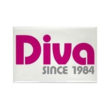 Diva Since 1984 Rectangle Magnet