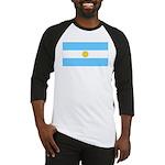 Argentina Blank Flag Baseball Jersey