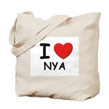 I love Nya Tote Bag