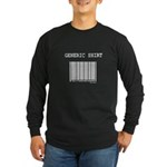 Generic Long Sleeve Dark T-Shirt