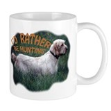 hunting spinone Small Mugs