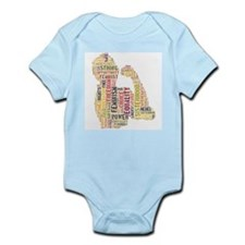 Unique Independent women Infant Bodysuit