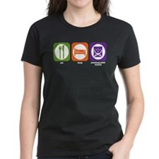 Eat Sleep Communications Tee