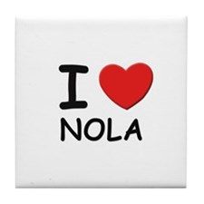 I love Nola Tile Coaster