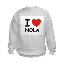 I love Nola Sweatshirt