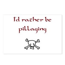 Pillaging pirate Postcards (Package of 8)