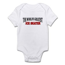 """The World's Greatest Ice Skater"" Infant Bodysuit"