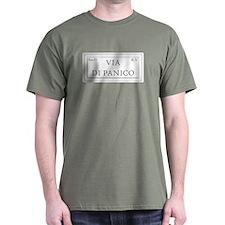 Via di Panico, Rome - Italy T-Shirt
