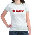 Go Daddy Jr. Ringer T-Shirt
