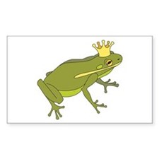 Frog Royalty Decal
