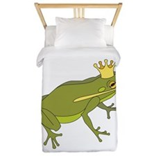 Frog Royalty Twin Duvet