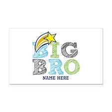 Star Big Bro Rectangle Car Magnet