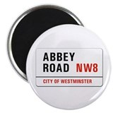"Abbey Road, London - UK 2.25"" Magnet (10 pack)"