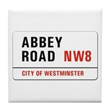 Abbey Road, London - UK Tile Coaster