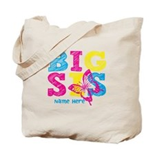 Butterfly Big Sis Tote Bag