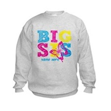 Butterfly Big Sis Sweatshirt