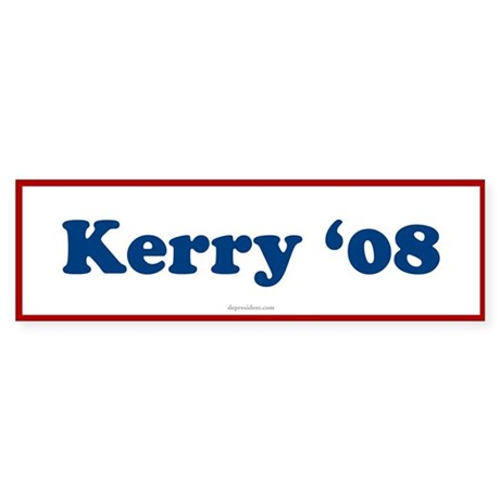 Kerry 08 Bumper Sticker