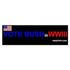 Vote Bush in WWIII