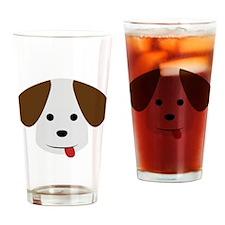 A Beagle Illustration for Dog Lovers Drinking Glas