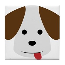 A Beagle Illustration for Dog Lovers Tile Coaster