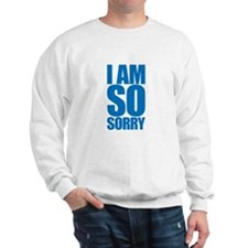 I am so sorry. Big apology. Sweatshirt