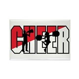 Cheer Rectangle Magnet (100 pack)